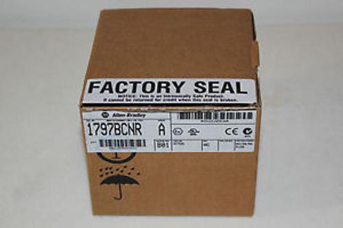 NEW IN BOX ALLEN BRADLEY 1797-BCNR 1797BCNR SER A , MFG 04/2006