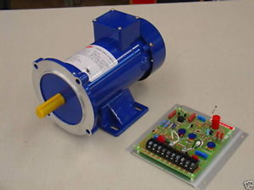 1 HP, 180 VDC, DC Motor and Variable Speed Control
