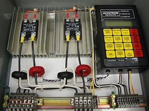 #SLS1C21 New Accutron Heat Tracing Control System Tracestat TS 202A 12196LR