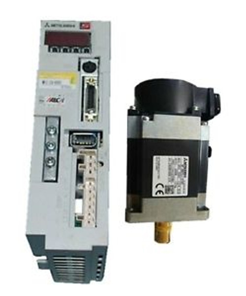 0.2KW 200W MR-E-20A-KH003 Servo Drive + HF-KN23JW1-S100 Servo Motor Original New