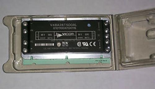 1 brand new VICOR (V48A28T500AL) POWER CONVERTER IN=48VADC O=28V AC/DC 500W