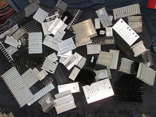 LARGE LOT MISC SIZE High Quality Aluminum Heat Sink/LED and Power IC Transistor