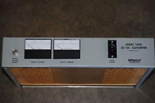 Wilmore 24-48Vdc Converter Series 1500 1502-24-48-8-M3