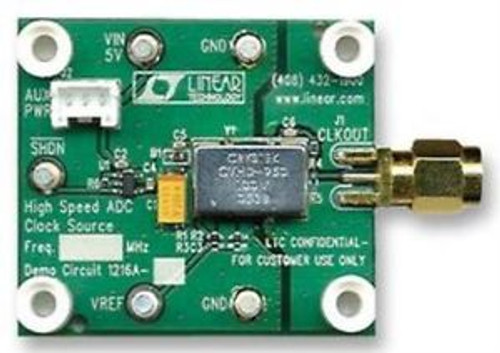 07W9830 Linear Technology Dc1216A-A 100Mhz High Speed Adc Clock Source Eval Brd