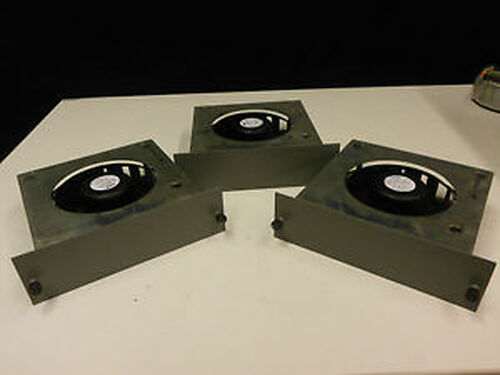 (3) Encased APW Mclean Model DB628-2418S15 Fan 24VDC