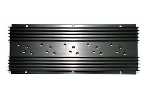 10pc Aluminium Heatsink AK109 L=250mm TO-3 Holes sets x5 Size=250x101x25mm Black
