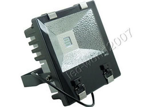 100W High Power LED Flood Light Aluminium Heatsink Waterproof 3D Cube Cooling