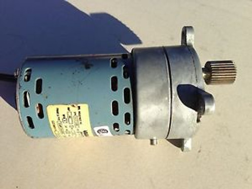 HOWARD INDUSTRIES MOTOR 5-22-0001 115V  HP 60 HZ  5 IN-LBS 250 RPM CONT DUTY