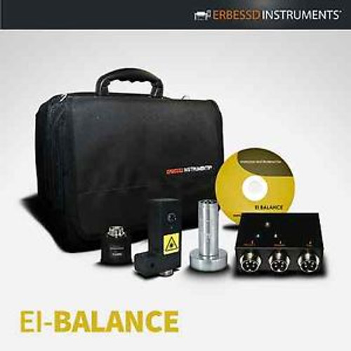 PC based BALANCING MACHINE  Portable easy to use Erbessd Instruments