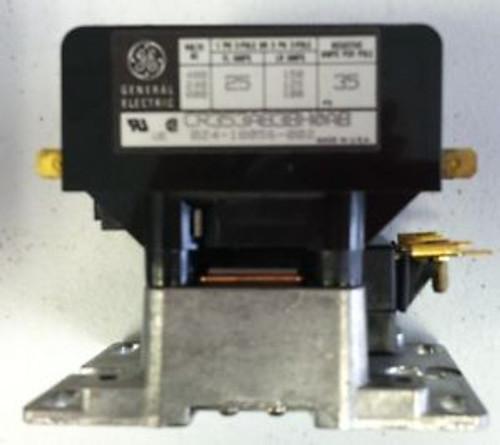 Lot of 2/GE Definite Purpose Contactor CR353AB3BH0AB 3 poles 24v 50/60 hz