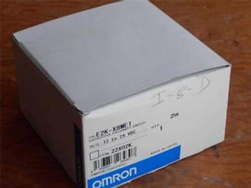 #75  OMRON  E2K-X8ME1  Capacitive Proximity Switch  12-24Vdc  2M  &gtNEW&lt