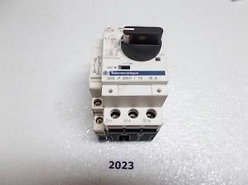 Telemecanique Schneider GV2-P20H7 13-18A Motor Protector Breaker