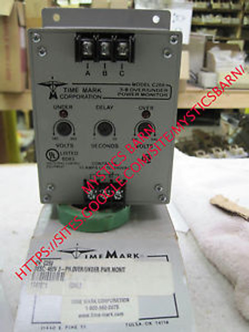 TIME MARK C269 3-?ÿ OVER/UNDER POWER MONITOR 480V