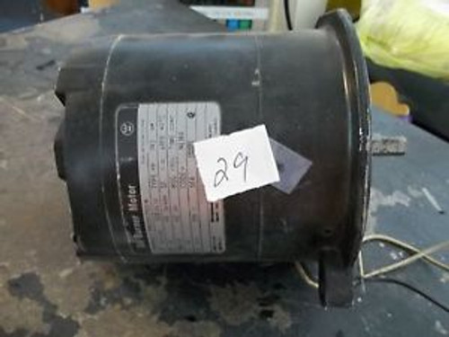 NEW, Westinghouse Oil Burner Motor Ser. CL72 S# 316P416 Thermally Protected(300)