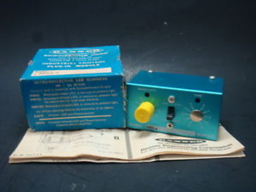1 NEW, BANNER, INDUSTRIAL CONTROL PLUG IN MODULE, MB3-4, NEW IN BOX