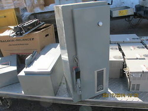Allen Bradley 512-AAB-24 Combination Size 0 Starter Disconnect 200-575V 3-5 HP