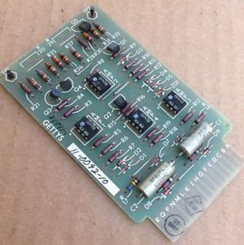 Gettys 11-0092-10 Circuit Board Module Drive WORKING