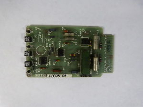 Gettys 11-0076-04 PC Board  USED