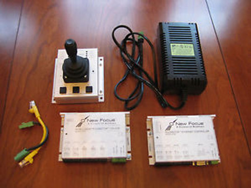 New Focus 8753 Picomotor Driver, 8752 Ethernet Controller, 8754 Joystick, + Pwr