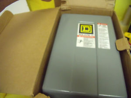 #1420 Square D Lighting Contactor New Surplus item 2 pole NEMA 1 Ser. D