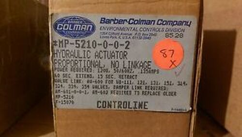 #139 - BARBER COLMAN MP-5210-0-0-2  HYDRAULIC ACTUATOR
