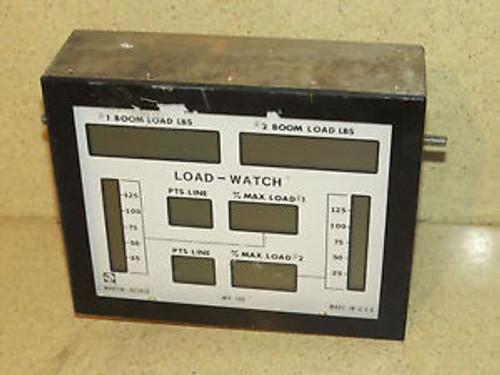 MARTIN DECKER DATA DISPLAY LOAD WATCH MP100 P/N M11036A