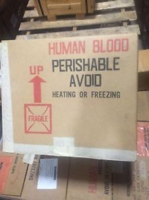 1 RADVA HUMAN BLOOD TRANSPORTATION CONTAINER MIL-B-36970 NOS