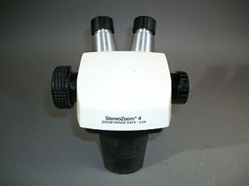 Bausch & Lomb SZ4 Stereozoom 4 Microscope Head 0.67x-3.0x No Eyepieces - USED