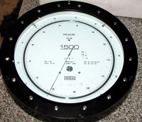 USF WALLACE TIERNAN 0-400 400-800  8 DIAL PRESSURE GAUGE- Model 62A4D0800 - a