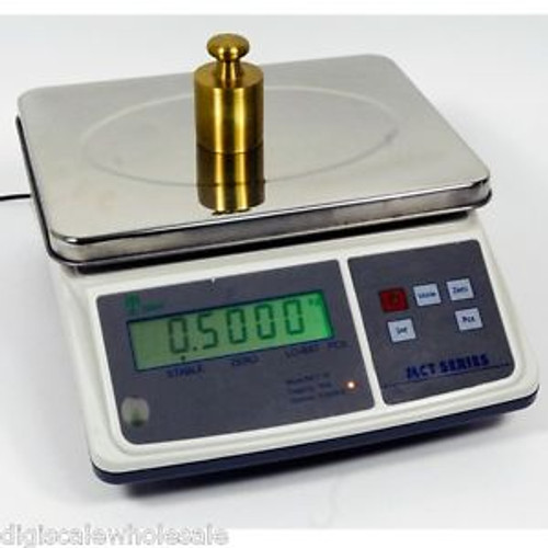 Counting Scale Digital Bench 7lb x 0.0002 Pound w/ 10V AC Adapter Tree MCT 7