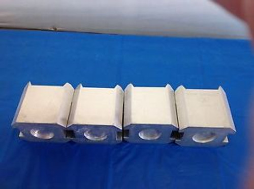 4 PCS of DuPont Swing Rotor Buckets 00482 for Dupond Sorvall HS-4 Centrifuge