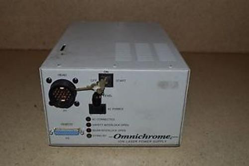 OMNICHROME MODEL 170 ION LASER POWER SUPPLY