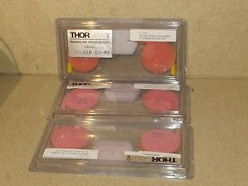 ++ THORLABS COUPLER 10202A-50-FC - LOT OF 3