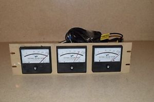 HASTINGS DV-6 GAUGE MODEL CVT-16 w/CABLES LOT OF THREE