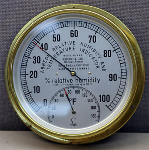 Abbeon Cal, Inc. M2A4B Relative Humidity And Temperature Indicator