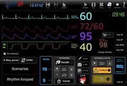 Ecg Simulator 25 Rhythms, Simulate 12Lead,X-Rays,Pacing,Sync,D-Fib,P,Co2,Spo2