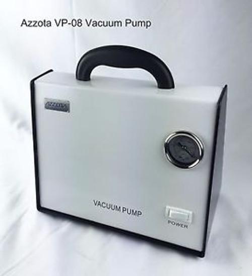 Azzota Oil Free Vacuum Pump, 8L/min, 80kpa, 10psi, 50W, &lt50dB