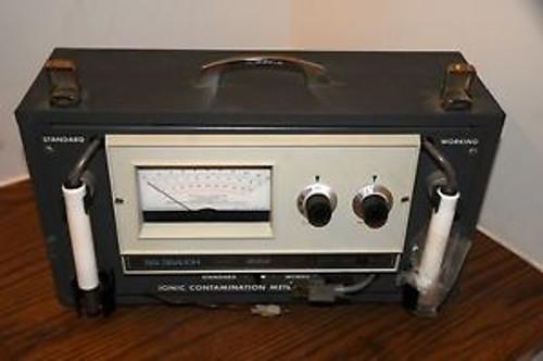 Vintage Ionic Contamination Conductivity- Meter Model ICM-1 Balsbaugh Series 900