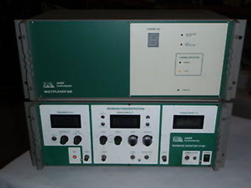 Aber Instruments 214M Biomass Monitor and 608  Multiplexer