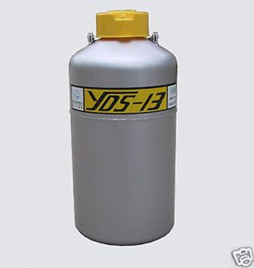 13 L Cryogenic Container Liquid Nitrogen LN2 Tank