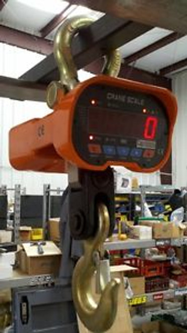 6,000 LB Overhead Hanging Digital Weighing Crane Scale w/Wireless Remote 6000