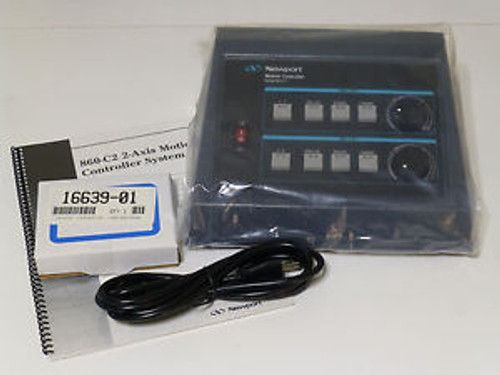 NEW - Newport 860-C2 Motion Controller, 4-Axis (2-Axis simultaneous)