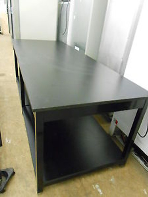 104 X 40 X 36 TALL 1 THICK COMPOSITE TOP LABORATORY TABLE WITH BOTTOM SHELF