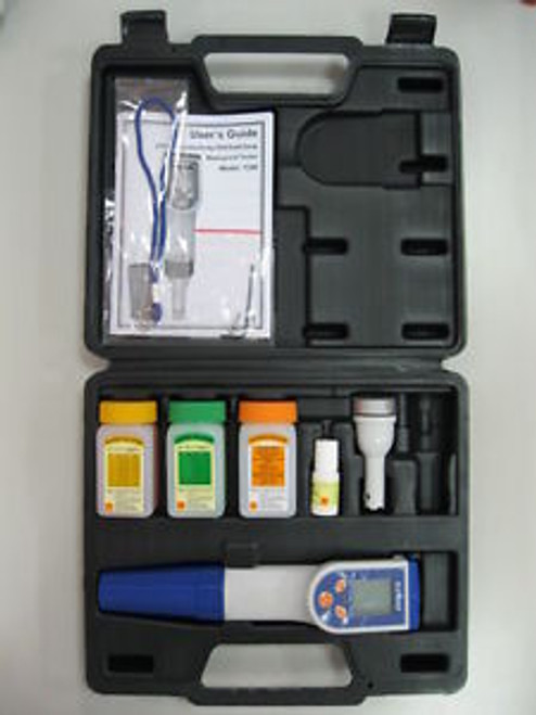 10 of Waterproof Hand-held Tester-- pH/Cond/Temp.multi-functions+AccessoriesCE