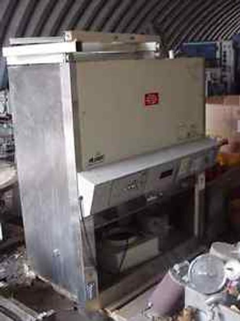 4 ft. NuAire lab hood  MODEL 460-400 biological hood top exhaust vent