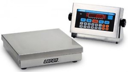 10 LB x 0.002 Doran Digital NTEP Stainless Steel Checkweigher Scale 8 x 8