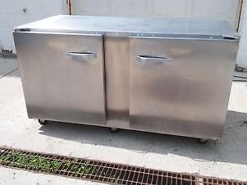 TRAULSEN ULT 60-LR Compact 2 Door Undercounter Freezer Left & Right Doors Wheels