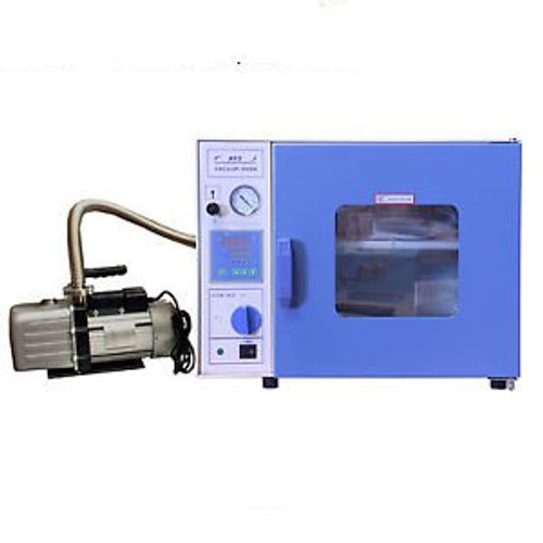 0.9 CuFt Digital Vacuum Oven with Pump Complete Kit – Stainless Steel - Warranty