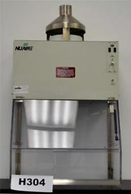 30 Nuaire Laboratory Fume Hood Class 1 Bio Safety Enclosure