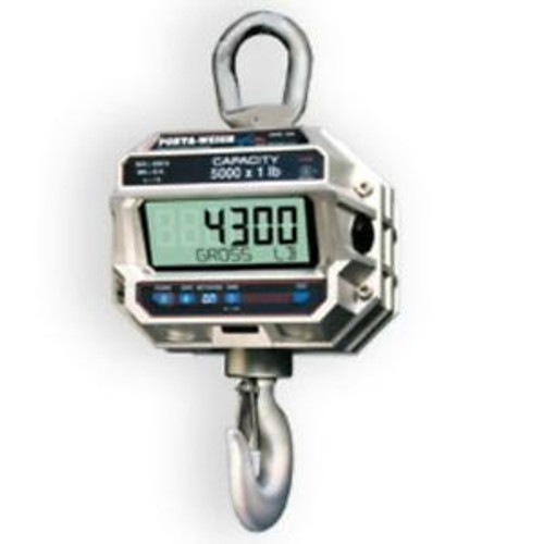 2,000 LB x 1 MSI-4300 Port-A-Weigh Plus NTEP Digital Marine Fishing Crane Scale